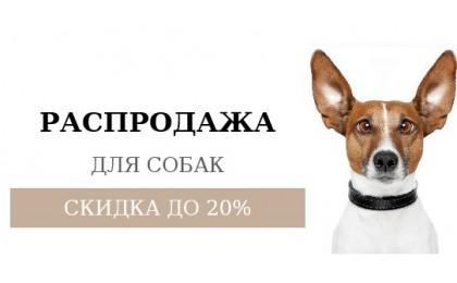 Банер на главной РАСПРОДАЖА СОБАКА